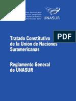 Tratado Constitutivo de La UNASUR Opt