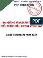 Slide Bài Giảng Javascript Của Vietpro (Buổi 02)