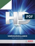 Tarif Vidéo - Avril 2011 - PDF SD2