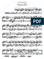 Piano Sonata No 12 in A
