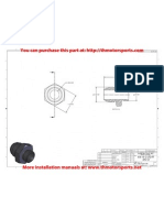 Aeromotive Part# an-10, cutoff, Installation Instructions