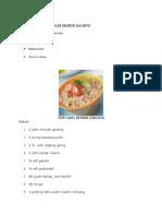 Tiim Nasi Semur Daging