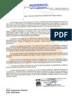 Registre PNL de CGT-PV Tragsa al GP Podemos 08-09-2015