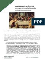 La Biblia y la Eucaristía