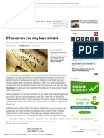 Five free insurance covers you may have missed knowing about - Money Today.pdf