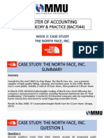 Audit the North Face Inc