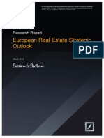 Deutsche AWM - Europe Real Estate Strategic Outlook - March 2015