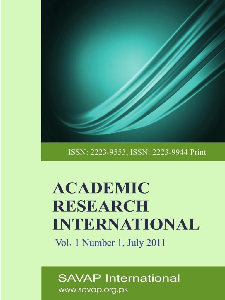 Vol 1(1)July2011 | Economic Growth | Educational Assessment