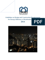 Guidelines of Energy Efficiency of Residential Buildings _ Hong Kong