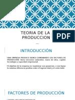 Clase 3 Teoria de Produccion