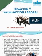 """10. Motivaciã""""n y Satisfaccion Laboral"""