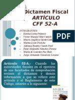 Dictamen Fiscal 52-A Del Cff