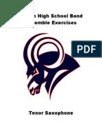Tenor Saxohpone