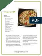 Chicken Orzo Soup - Tupperware Recipe