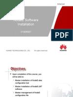 NodeB Software Installation(V100R007)