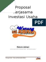 Proposal Kerjasama Investasi Usaha