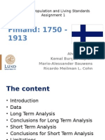 Assignment 1 Finland