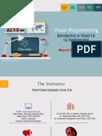 Introduction and Fundamental Visual C#