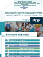 Modelo de Atención Humanizado  dirigidos a parturientas durante las etapas del trabajo de parto en el Distrito Sanitario II del estado Anzoátegui