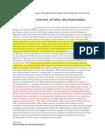 Sk2 Yola-metode Pencegahan Berdasarkan Penyakit (Oral Cancer)