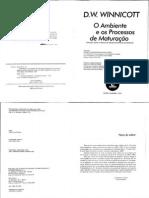 WINNICOTT, o ambiente e os processos de maturacao.pdf