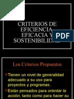 Criterios Para Proyectos de Inversión