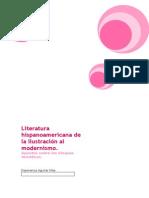 Apuntes Bloque Uno literatura hispanoamericana
