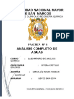 AQ- Analisis de Aguas