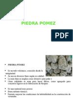 Materil piedra pomez