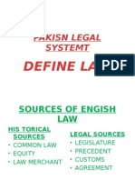 Tauheed 1177 12365 1-1. Pakisn Legal Systemt