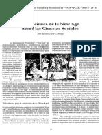 Definición de La Nueva Era Desde Las Ciencias Sociales.