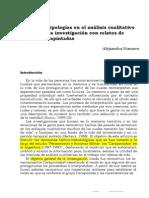 Matrices y tipologías en el análisis cualitativo de datos