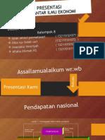 Kelompok 8 Pendapatan Nasional