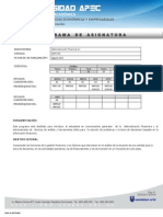 Programa Asignatura ADM140