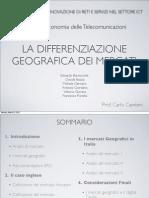 [slides] I Mercati Geografici