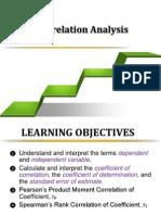 Correlation Pearson