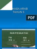 BAHASA ARAB THN 5 MS 20 DAN 21