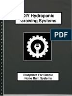 Diy Hydroponic Design Plans
