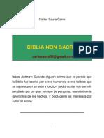 Biblia Non Sacra. Carlos Saura Garre