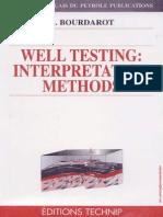Bourdarot, G. - Well Testing Interpretation Methods