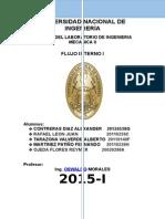 FLUJO INTERNO LABORATORIO DE INGENIERIA MECANICA II