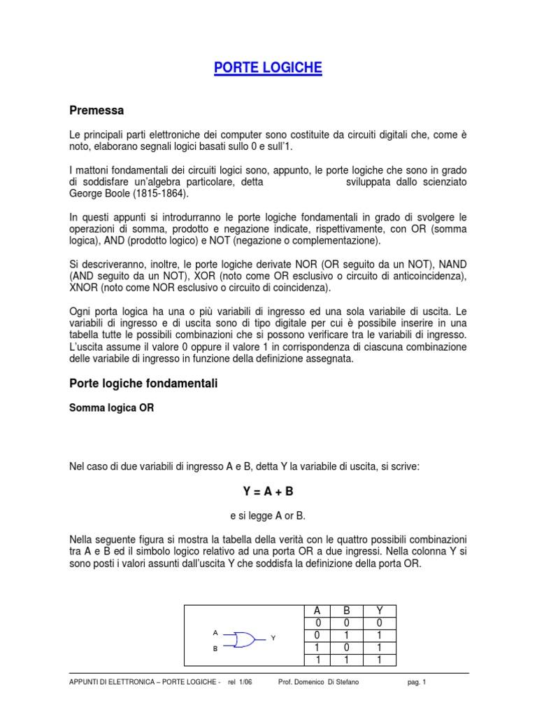 Circuito Logico : Guia de circuitos logicos combinatorios pdf