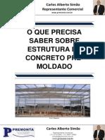 O que precisa saber sobre Estrutura de Concreto Pré-Moldado