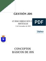 Gestión JDS