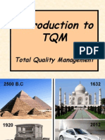 Introduction to TQM ppt