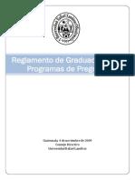 Reglamento de Graduacion URL
