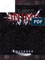 Anima Tactics Rulebook