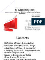 Lecture1 Sales Organization