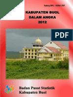 Kabupaten Buol Dalam Angka 2012