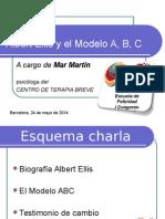 Albert Ellis y El Modelo ABC. Mar Martín